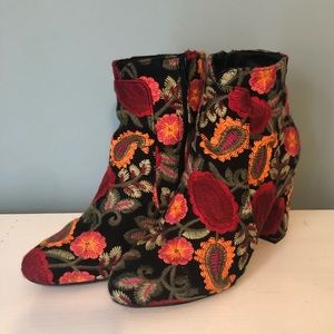 MIA Embroidered Booties